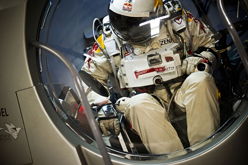 Countdown to 'Fearless' Felix's Supersonic